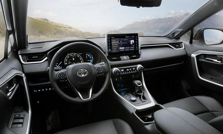 ภายใน Toyota RAV4 Prime