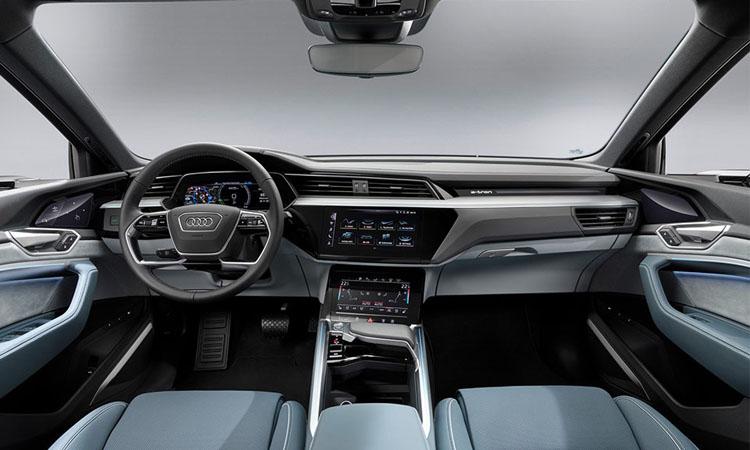 ภายใน Audi e-tron Sportback