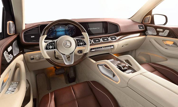 ภายใน Mercedes-Maybach GLS