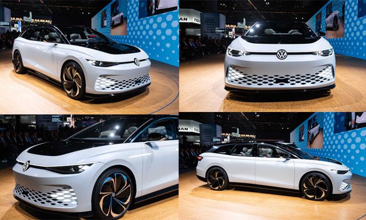 ดีไซน์ Volkswagen ID. Space Vizzion