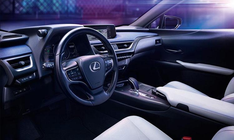 ภายใน Lexus UX300e