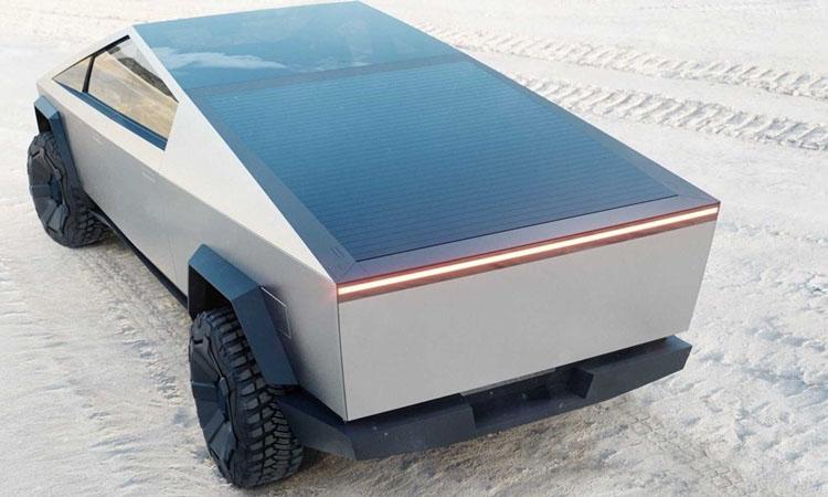 ดีไซน์ Tesla Cybertruck EV