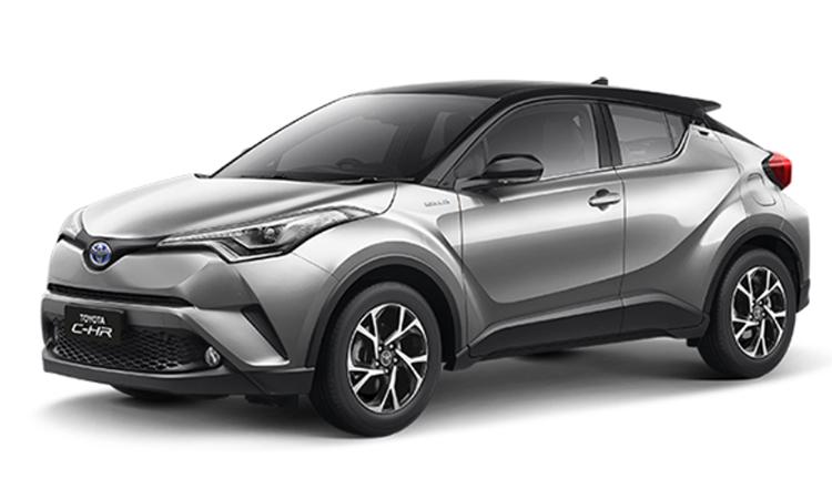 มิติตัวถัง Toyota C-HR NURBURGRING Edition