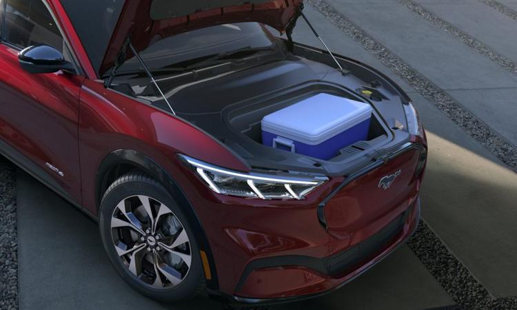 ที่เก็บของด้านหน้า Ford Mustang Mach-E