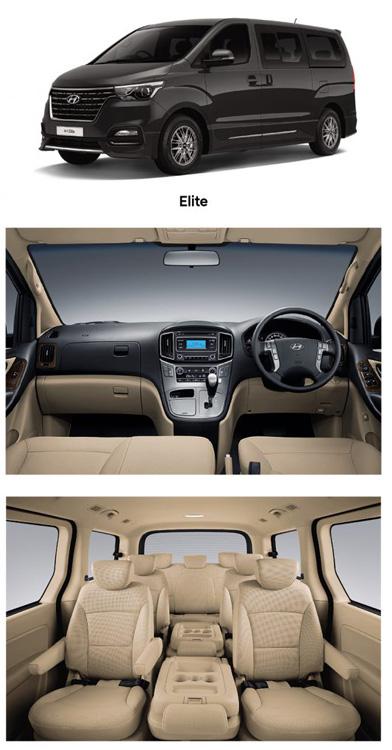 Hyundai H1 MY2019 รุ่น Elite เพิ่มเติม