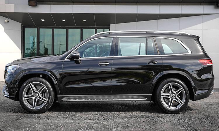 มิติตัวถัง Mercedes-Benz GLS 350d 4MATIC
