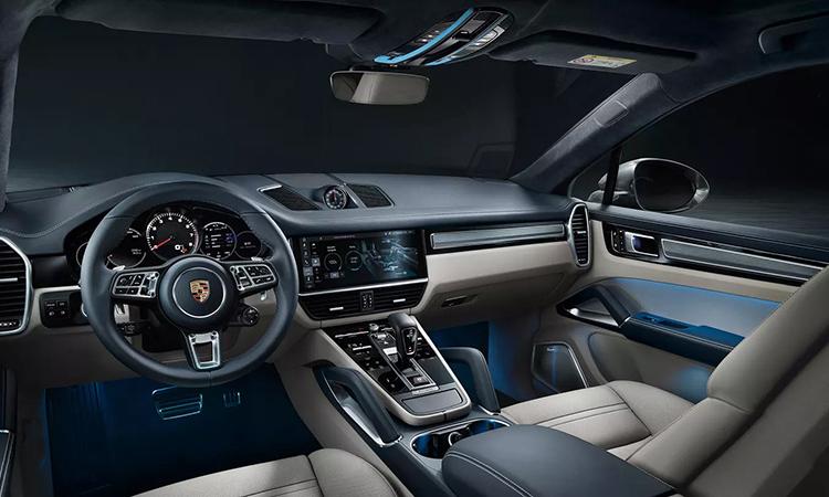 ดีไซน์ด้านใน Porsche Cayenne e-hybrid Coupe