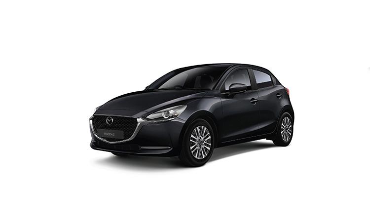 Mazda 2 Minorchange สีดำ Jet Black