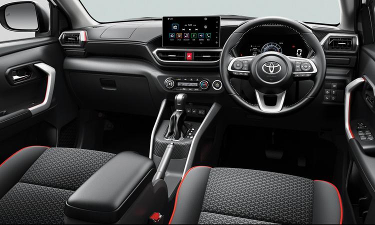 ดีไซน์ภายใน All NEW Toyota Raize