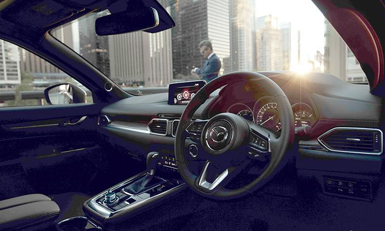 พวงมาลัย All NEW Mazda CX-8