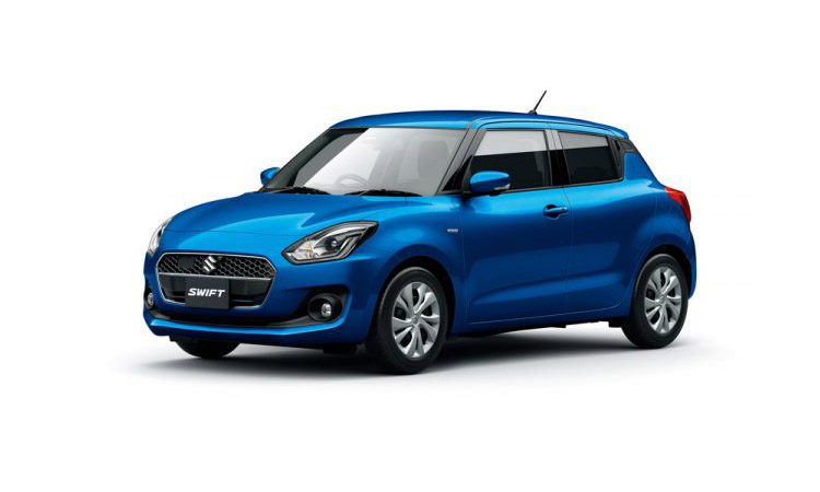 Suzuki Swift HYBRID MG สีน้ำเงิน