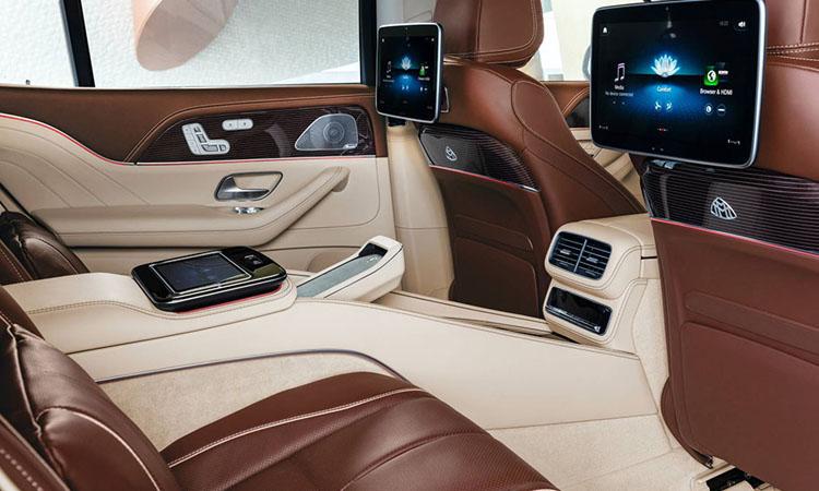 ดีไซน์บาะหลัง Mercedes-Maybach GLS
