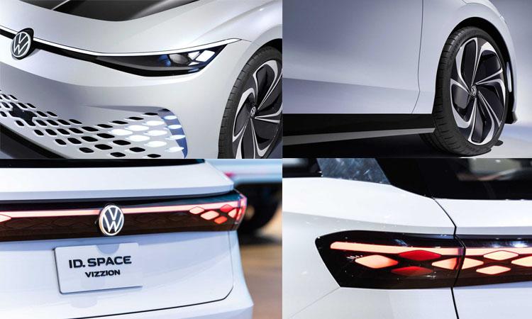 ดีไซน์ภายนอก Volkswagen ID. Space Vizzion