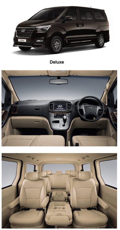 Hyundai H1 MY2019 รุ่น Deluxe เพิ่มเติม