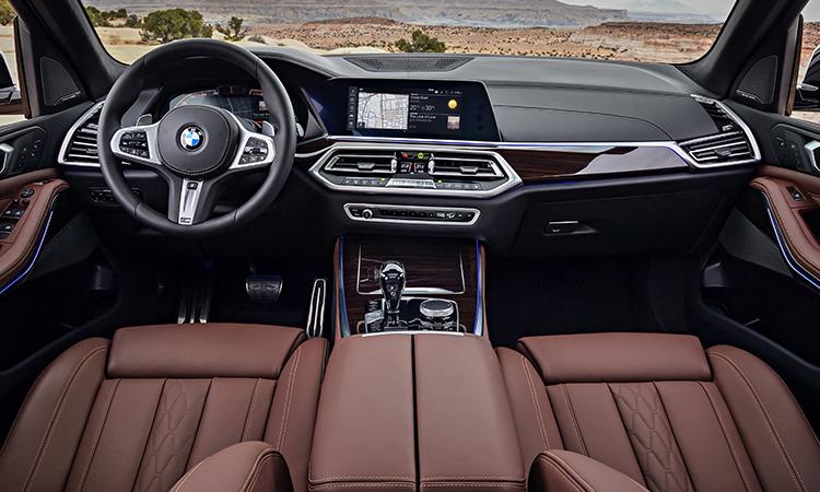 ภายใน BMW X5 xDrive45e (Plug-in Hybrid)