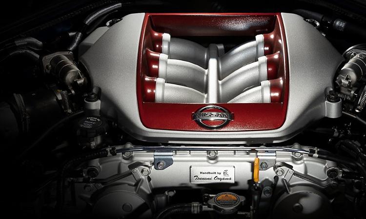 เครื่องยนต์ Nissan GT-R 50th Anniversary
