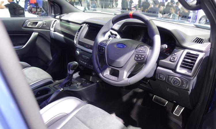 ภายใน New Ford Ranger Raptor 2020