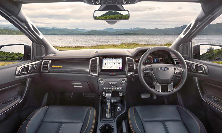 ภายใน Ford Ranger 2.0 Bi-Turbo Wildtrak X 4WD 10AT