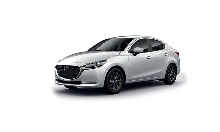 Mazda 2 Minorchange สีขาว Snowflake White Pearl