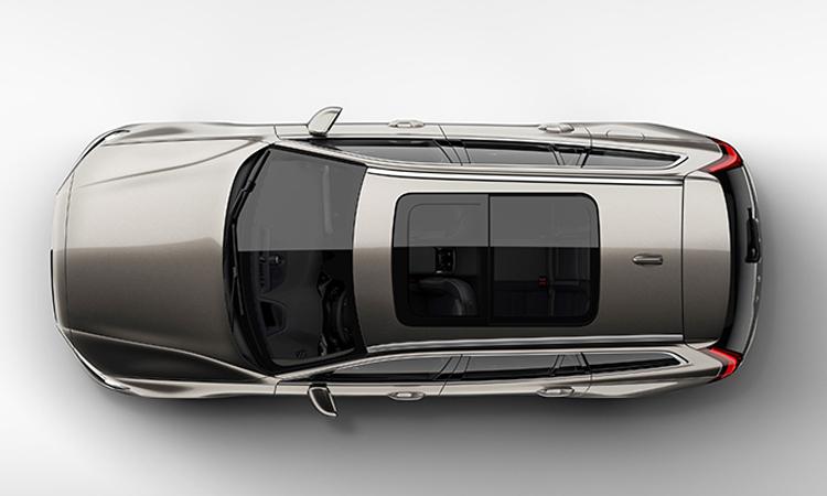 หลังคาแก้วซันรูฟ Volvo V60 T8