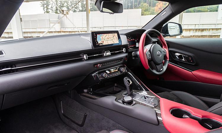 ภายใน All NEW Toyota Supra