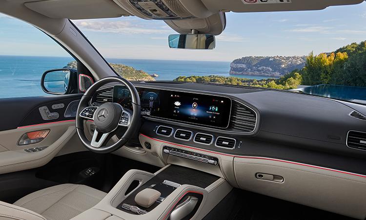 การออกแบบภายใน Mercedes-Benz GLS 350d 4MATIC SUV