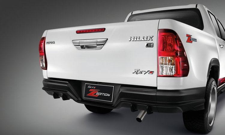 ท้ายรถ Toyota Hilux Revo
