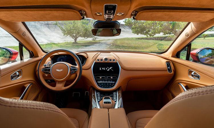 ภายใน Aston Martin DBX 2021