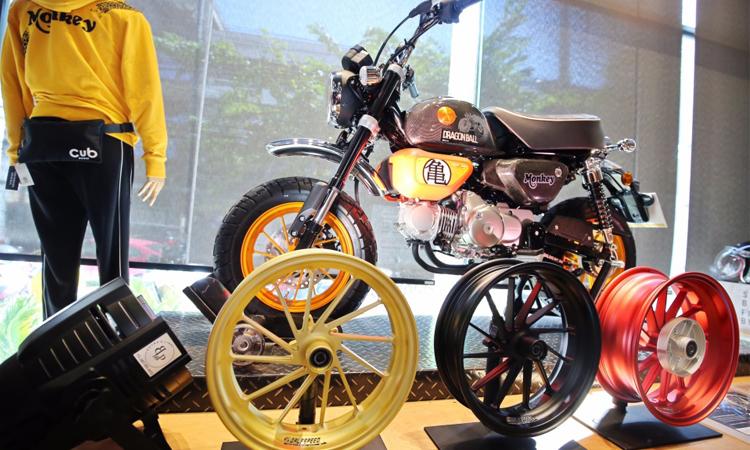 Honda Monkey Dragon Ball Limited Edition