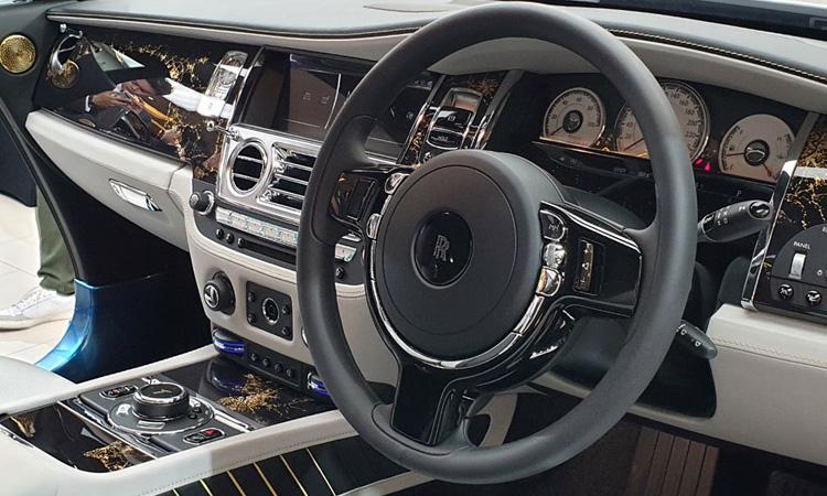 พวงมาลัย Rolls-Royce Wraith Eagle VIII 2019