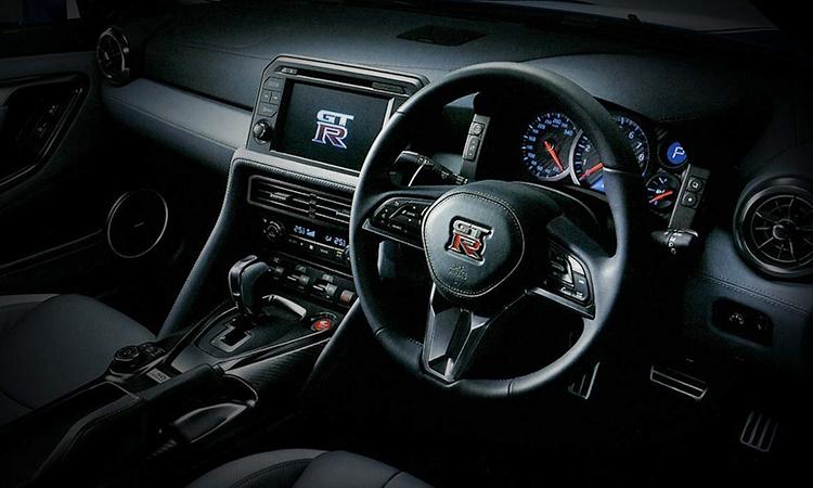 ภายใน Nissan GT-R 50th Anniversary