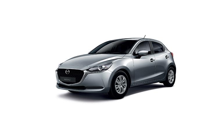 Mazda 2 Minorchange สีเทา Polymeal Gray