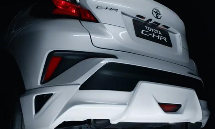 กระจังหลัง Toyota C-HR NURBURGRING Edition