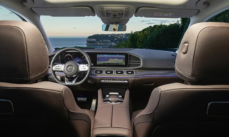 ดีไซน์ข้างใน Mercedes-Benz GLS 350d 4MATIC SUV