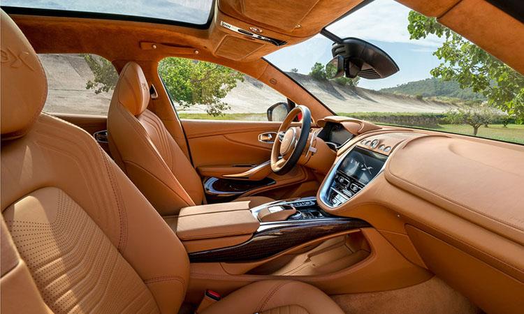 ดีไซน์ภายใน Aston Martin DBX 2021