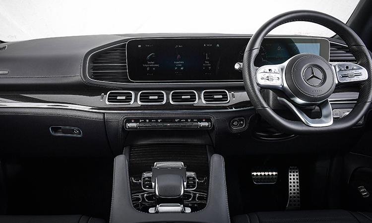 คอนโซนกลาง Mercedes-Benz GLS 350d 4MATIC
