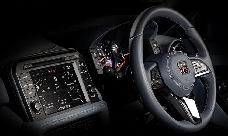 ด้านใน Nissan GT-R 50th Anniversary