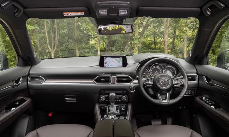ภายใน Mazda CX-8