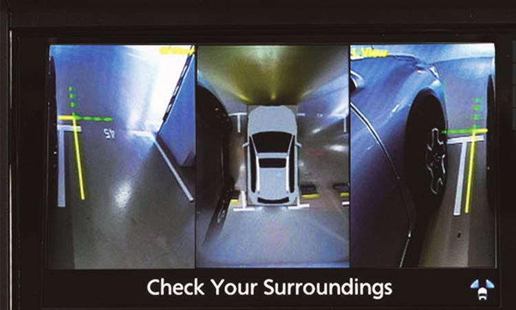 กล้องรอบคัน Subaru XV GT Edition