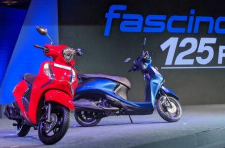 เปิดตัว New Yamaha Fascino 125 ที่ประเทศอินเดีย