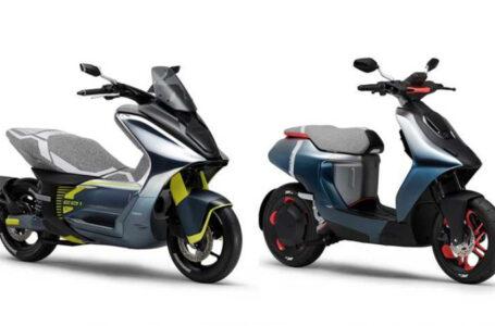 Yamaha อวดโฉม Yamaha E01 Concept และ E02 Concept สกู๊ตเตอร์ไฟฟ้าต้นแบบ