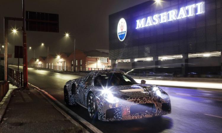 Maserati เริ่มทดสอบเครื่องยนต์ใหม่ ภายใต้ยนตรกรรมปริศนา