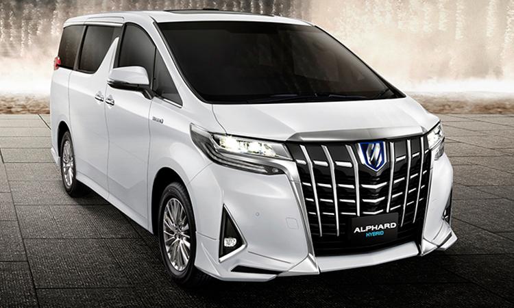 ดีไซน์ Toyota Alphard