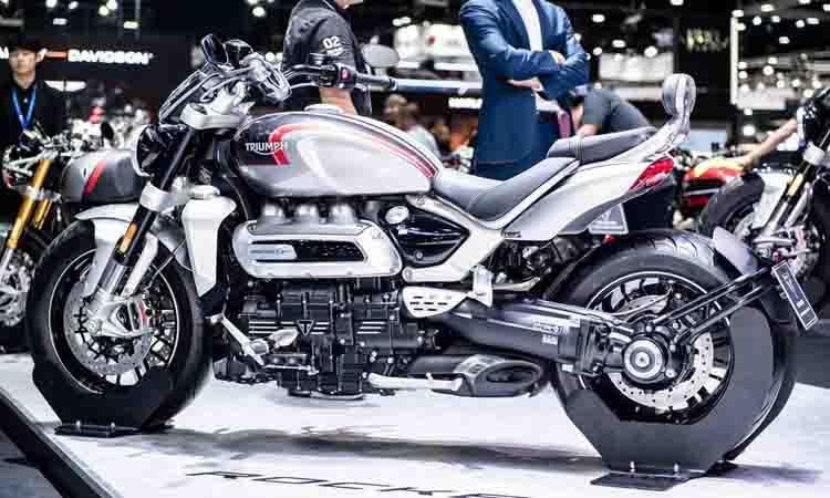 Triumph Rocket 3 เครื่องยนต์ 3 สูบ เปิดราคาเริ่มต้นที่ 955,000 บาท ที่งาน Motor Expo 2019
