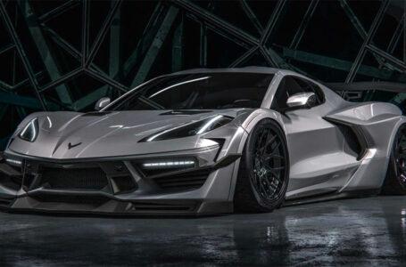 Chevrolet Corvette Widebody 2020 พร้อมชุดแต่งจาก HugoSilva