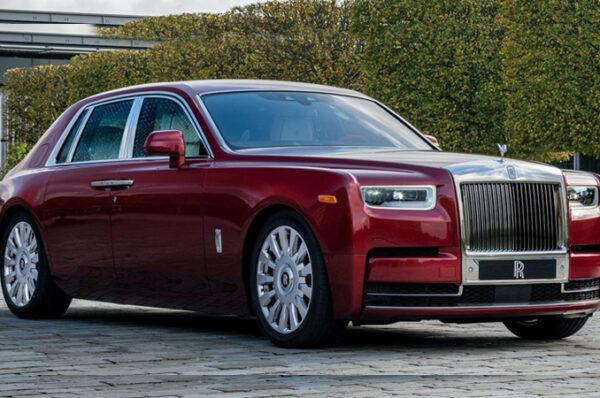 Rolls-Royce Red Phantom ที่มีเพียงคันเดียวนโลก