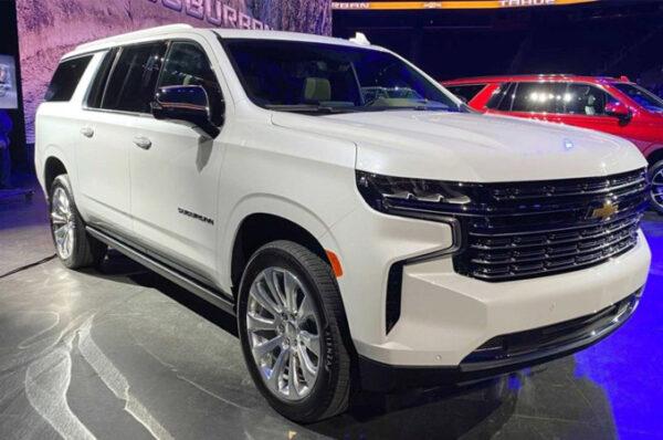 Chevrolet Suburban 2020 เอสยูวีคันใหญ่ เครื่องยนต์ V8 ค่าตัว 2.1 ล้านบาท