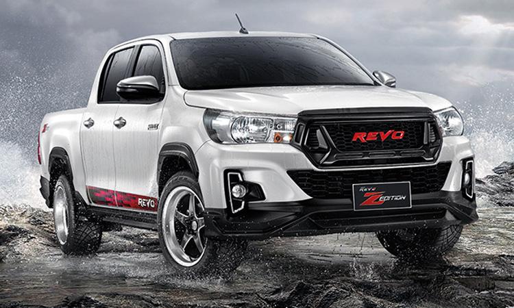 Toyota Hilux Revo Z-Edition กับชุดแต่งตัวเตี้ย สนนราคา 47,800 บาท