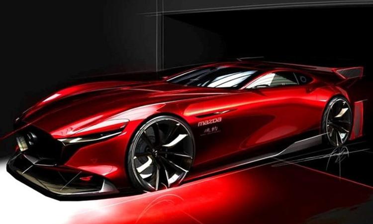Mazda ปล่อยภาพทีเซอร์ Mazda RX-Vision GT3
