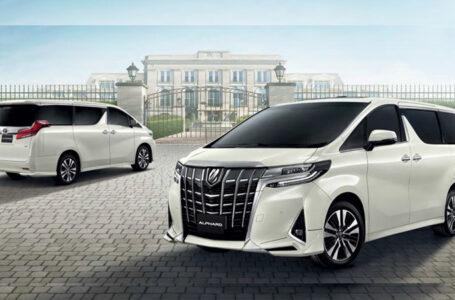 ราคา ตารางผ่อนดาวน์ Toyota Alphard Hybrid ปี 2020-2021